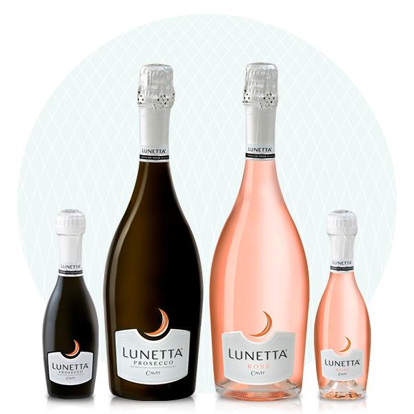 Lunetta Prosecco Wine, Lunetta Rosé Wine - Palm Bay International